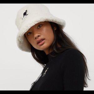 RARE Kangol X H&M Sherpa Bucket Hat